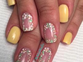 nail art: Summer Breeze