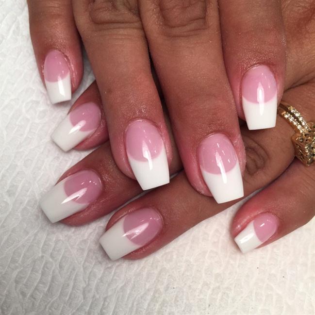 Unicorn Ombre Nails With Diamonds Pretty Nails With Diamonds