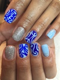 Glitzy N Blue