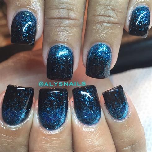 Blue Glitz