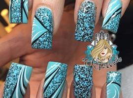 nail art: Confetti