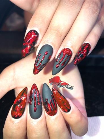 Matte Bloody Halloween
