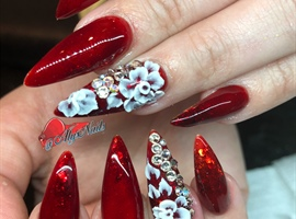 nail art: Glass