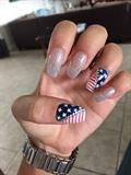 Purge Nails ❤️🔪💙