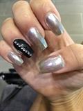 Chrome Nails 💅🏽😍❤️