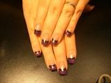 purple and black