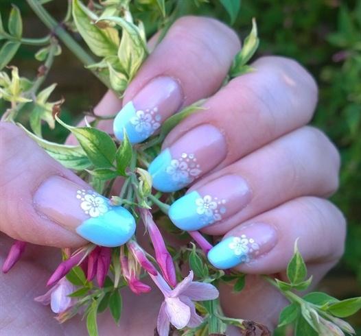 Summer Blossom French 🌺