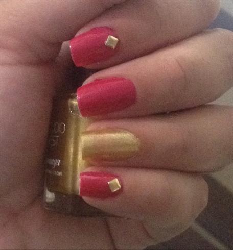 Pink&golden