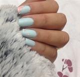 Blue Matte Look