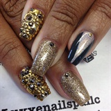 Gold Metals Do Sparkle
