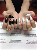 Sculpted Nails With Gel Polish