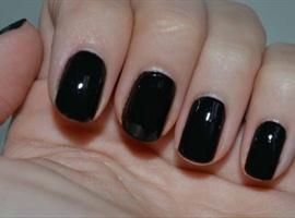 nail art: Black Nails