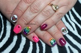 Rainbows, hearts, and animal print