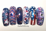 Patriotic Nail Ideas