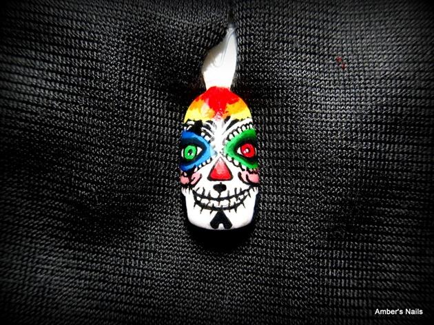 2nd Clown Sugar Skull