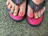 Rainbow Pedi