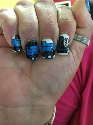 Thomas Train Nail Art Gallery