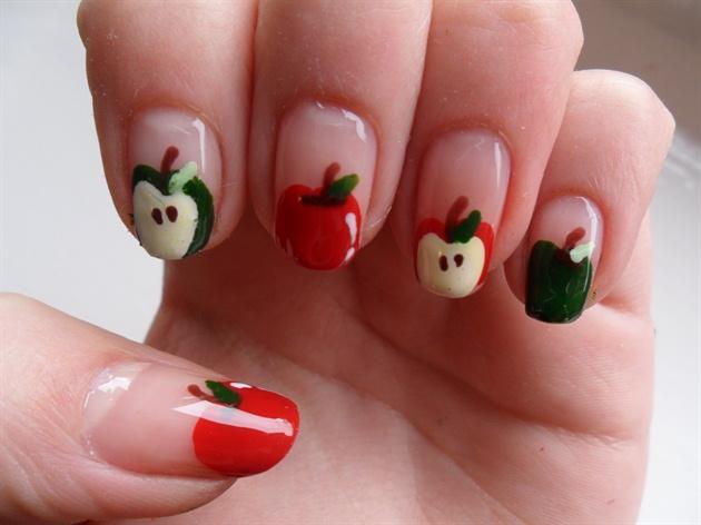 Apple Nails Nail Art Gallery