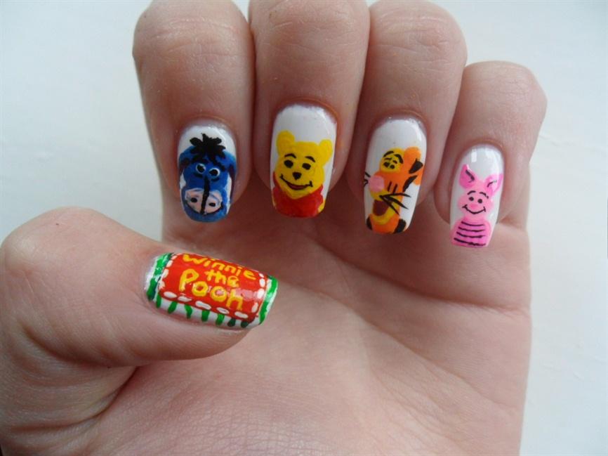 Winnie The Pooh Nails Nail Art Gallery