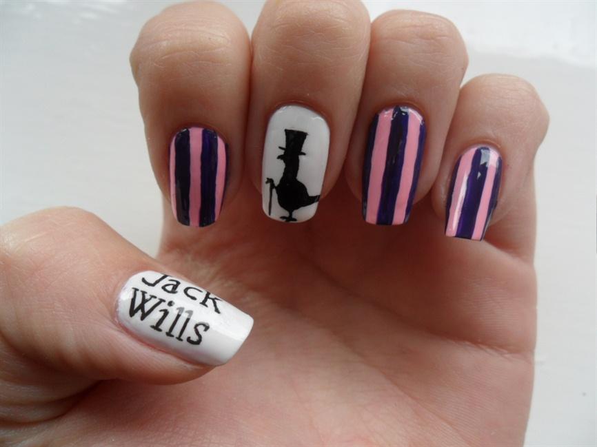 Jack Wills nails - Nail Art Gallery
