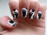 Foot Print nails