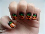 Pumpkin nails