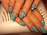 Jupiter Blue nails