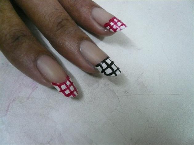 Red- White- Black