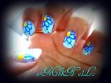 Blue Floral..