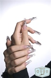 Nail shape like accessory. Monroe.