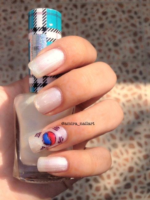 Korea flag nail art gallery prinsesfo Images