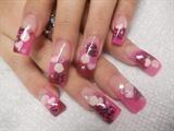 pink cheetah  & love