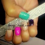 color acrylics