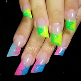 neon color