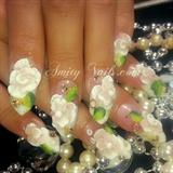 vintage. nails 3d