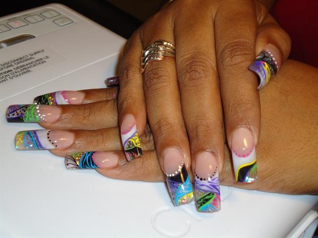 Multi Color - Multi Color - Nail Art Gallery