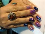 Purple metalic