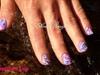 purpule nails