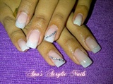 cover pink-white glitter and stones
