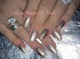 Diamond Sand Nails