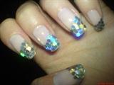 sparkles nails