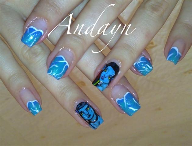 Avatar Nail Art Gallery