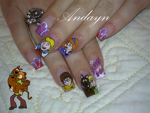 Scooby Doo Nail Art Gallery