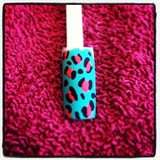 Matte Neon Leopard