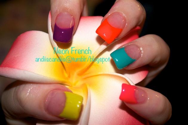 Neon French Twist