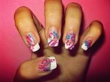 swirls flower