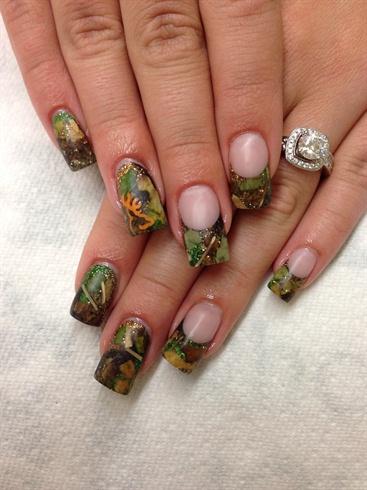 Hunting Camo Nails Nail Art Gallery