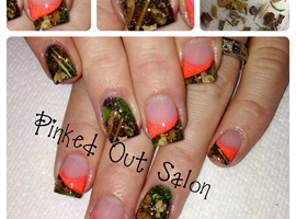 nail art: Real Camo Nails!