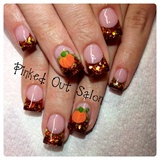 Festive Fall w/3D pumpkins