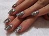 jeweled acrylic